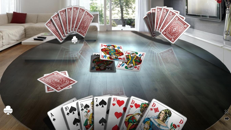 Skat - The Royal Club, kostenlose Testversion mit Multiplayer in 3D